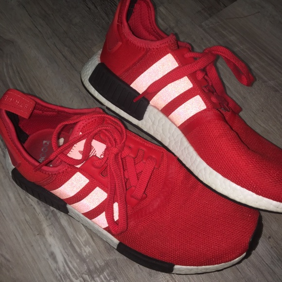 newest 757d2 23553 NMD's red